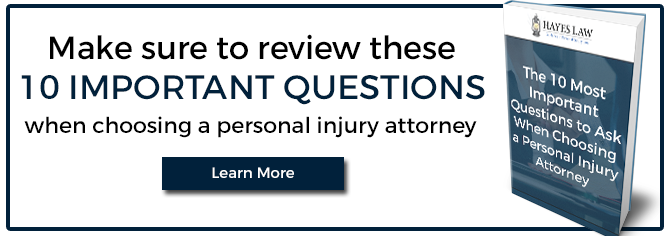 10 Important Questions When Choosing a Personal Injury Attorney
