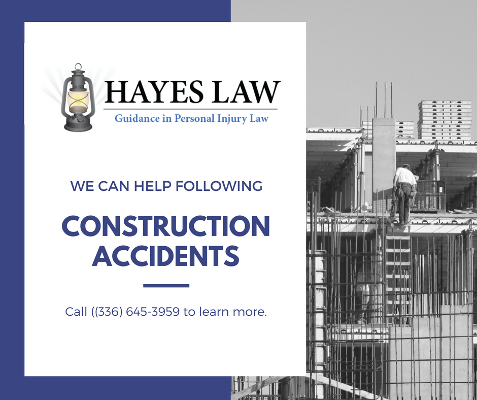 Greensboro Construction Injury Lawyer