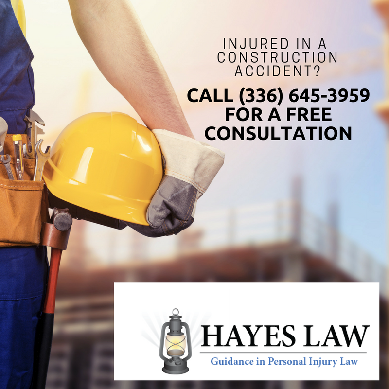 Construction Accident Attorney in Greensboro, NC