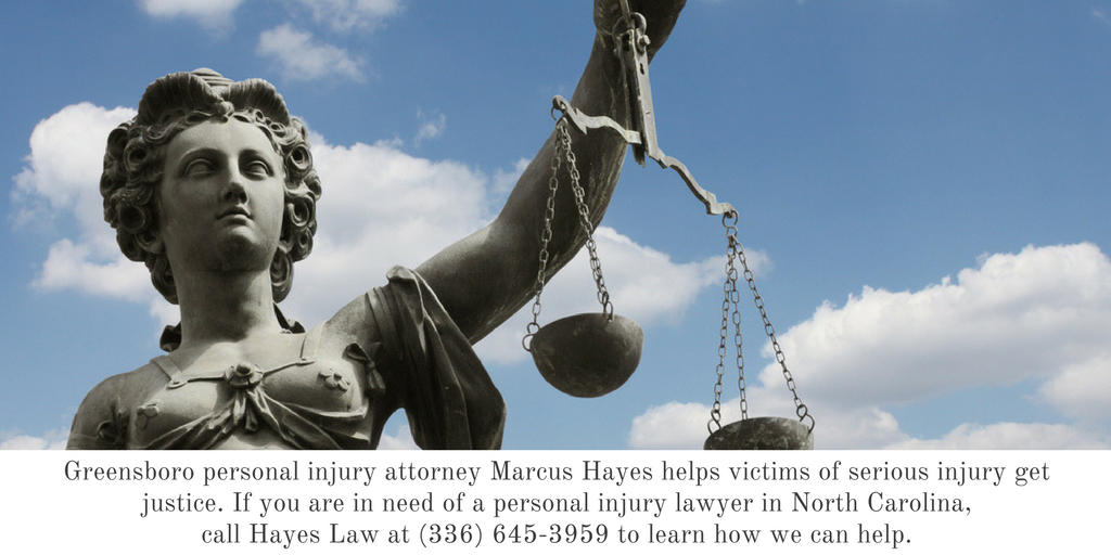 Personal Injury Lawyer Greensboro NC - Hayes Law