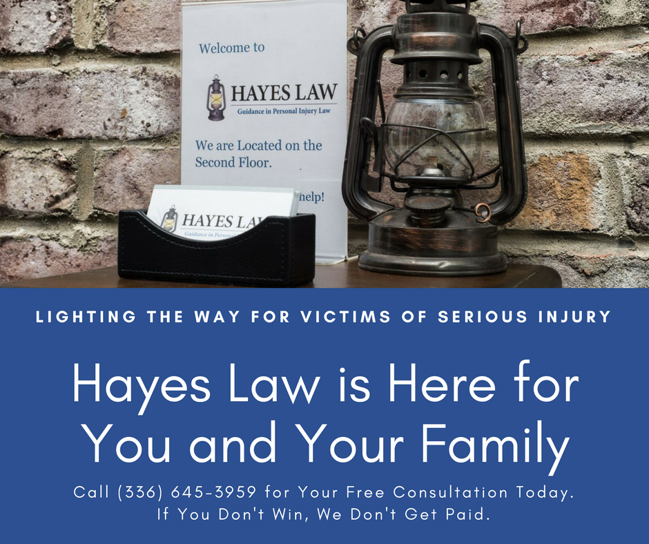 Injury Lawyer in Greensboro, NC | Hayes Law